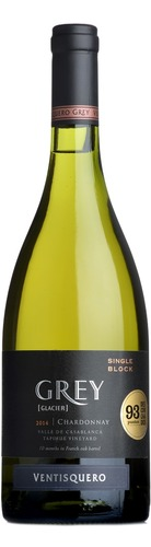 2014 Chardonnay 'Grey' Single Block, Viña Ventisquero, Rapel Valley