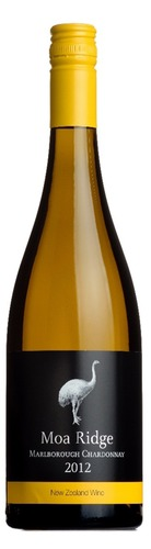 2012 Chardonnay Moa Ridge, Marlborough