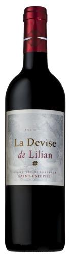 2012 La Devise de Lilian, St.-Estèphe, Bordeaux