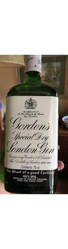 1970 Gordons Special Dry London Gin