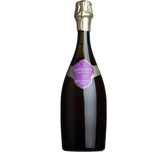 Gosset Petite Douceur Rosé Extra Dry, Champagne, France