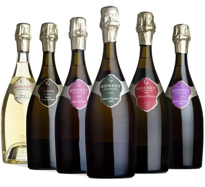 Gosset Champagne 'Taste the Selection' Case