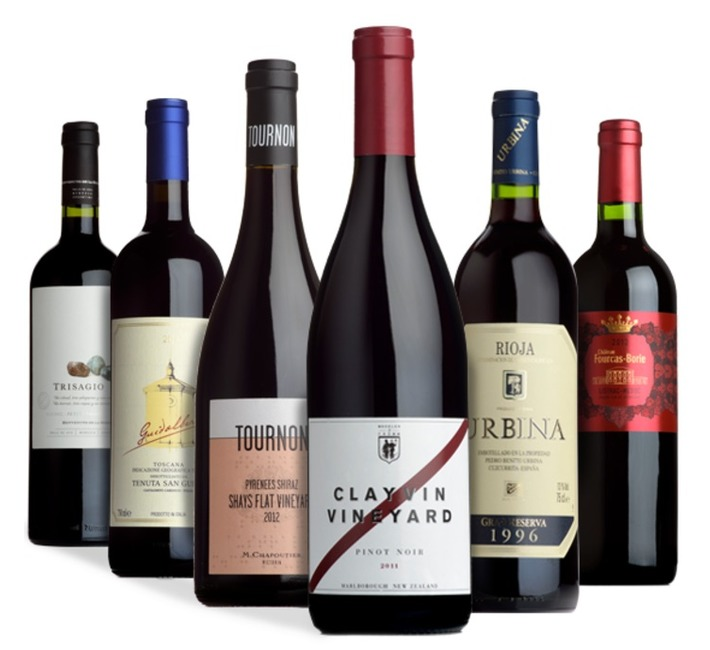 Fine Wine Six Pack of Reds