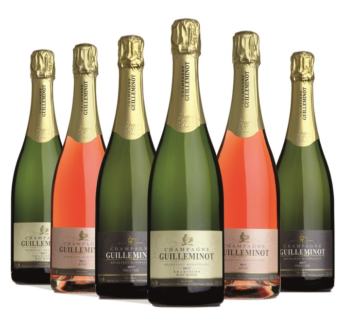 6 Bottle Guilleminot Champagne Taster Case