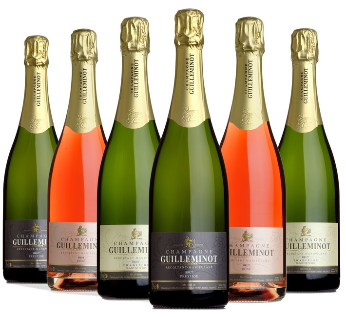 Champagne Guilleminot Taster Case