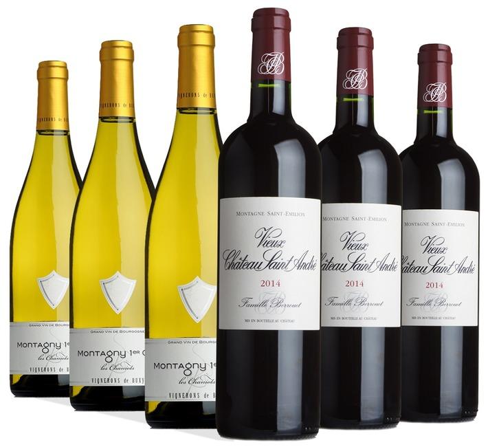 Fine Bordeaux & Burgundy Mixed Case