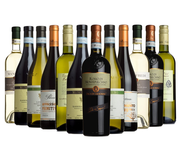Italian Sample Case - Dispatched from 29th May
