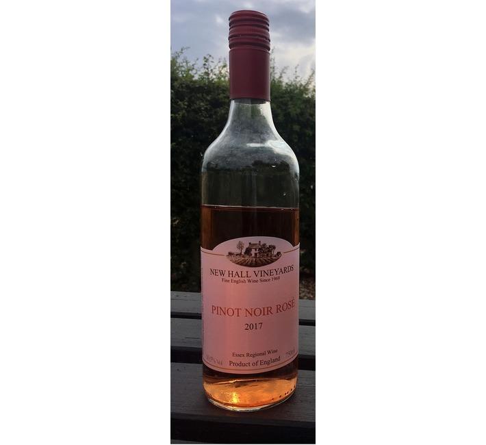 2017 New Hall Pinot Noir Rosé