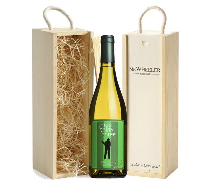 2016 Viognier, Three Thirty Three Gift Box (Signed Bottle)