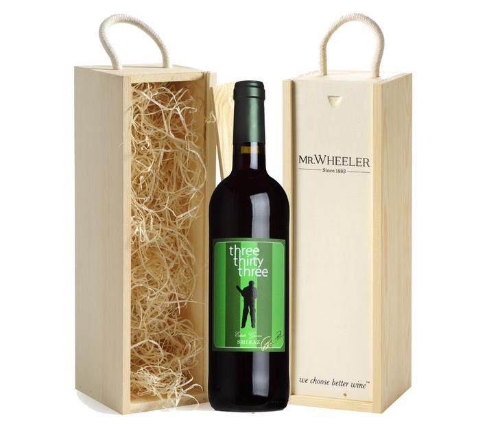 2015 Shiraz, Three Thirty Three Gift Box (Signed Bottle)