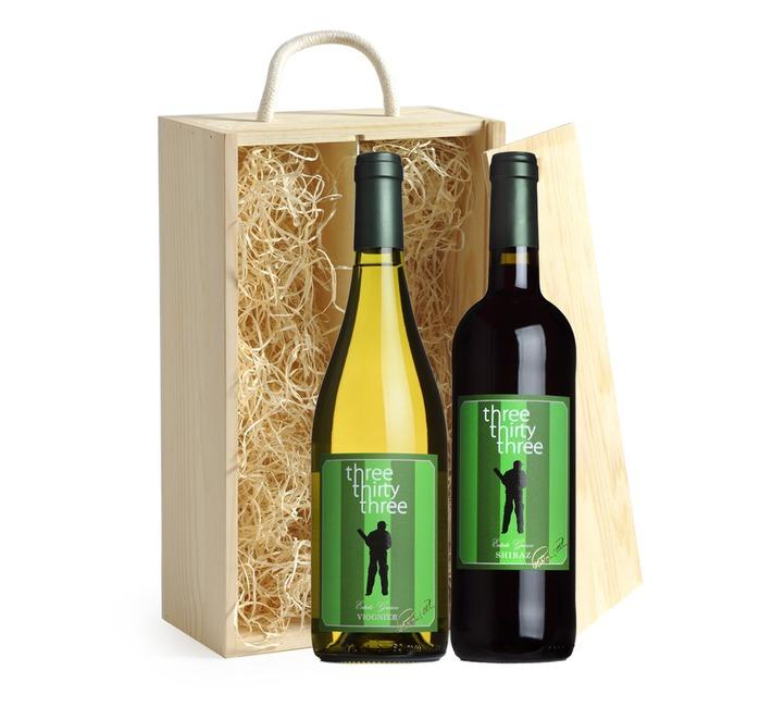 Three Thirty Three Duo Gift Box (Signed Bottles)