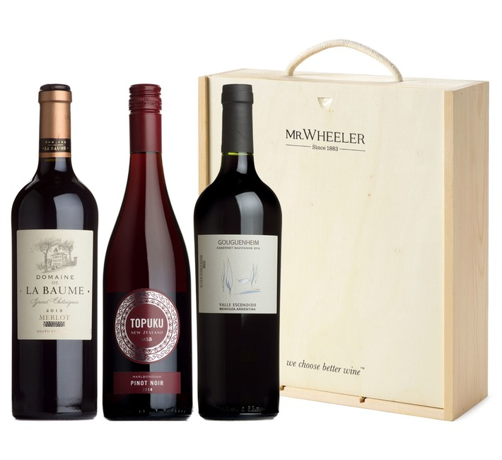 Great Red Grapes Gift Box