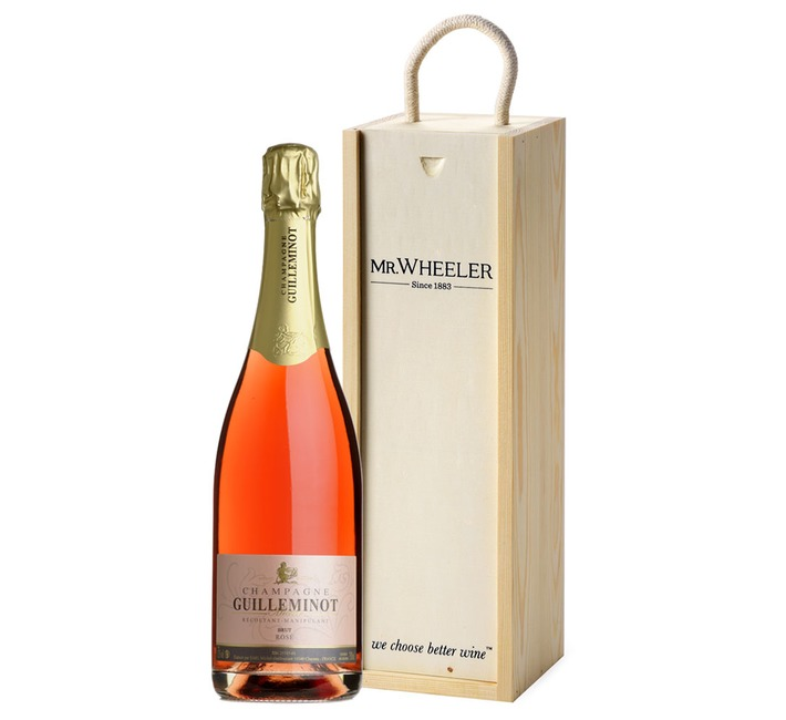 Guilleminot Rosé Champagne Gift Box