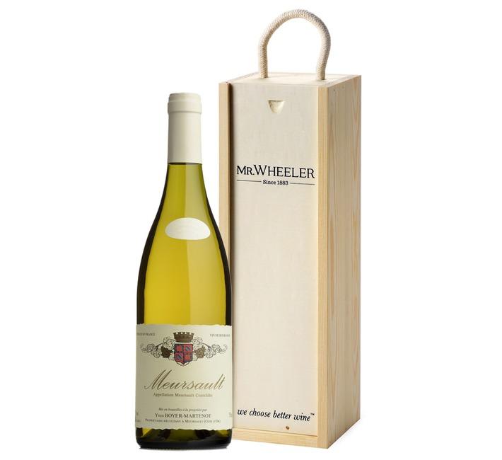 Top White Burgundy Gift Box
