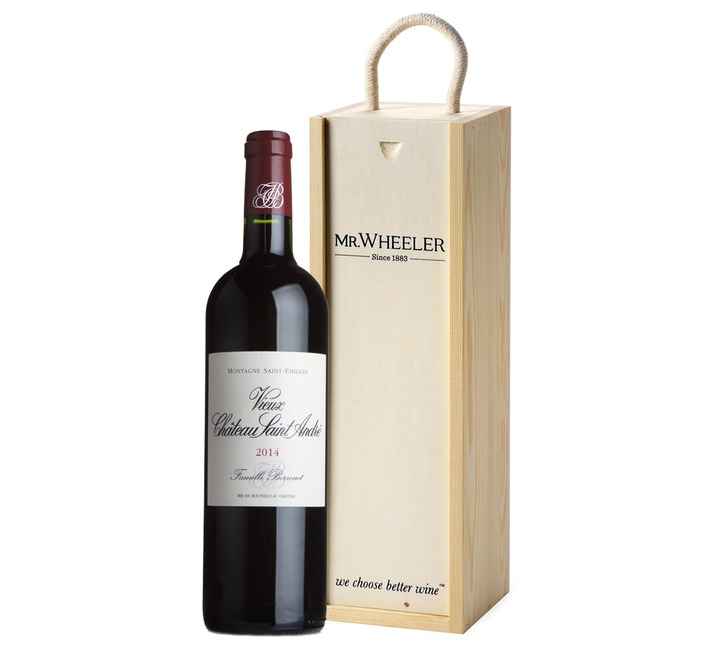 Fine Bordeaux Wine Gift Box
