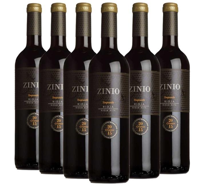 2015 Zinio Crianza Rioja, Bodegas Patrocinio (6 bottles)