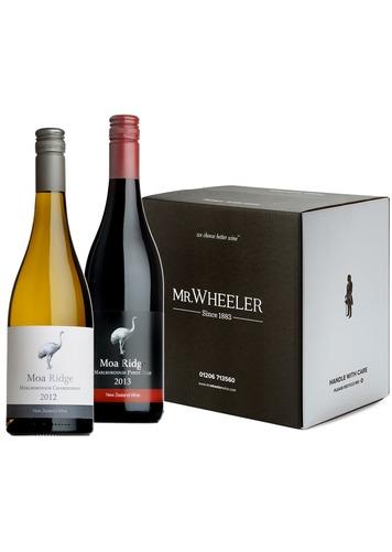 Moa Ridge Mixed Pinot Noir & Chardonnay Case
