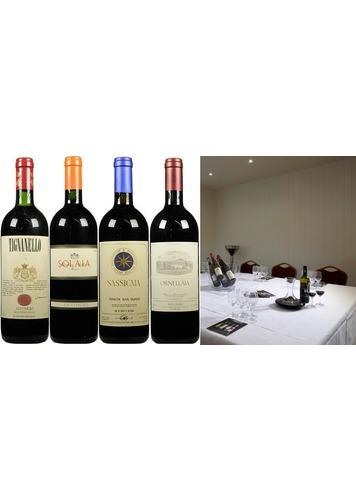 Tutored Tasting | Fine Wine Showdown, Super Tuscans | 20th & 22nd April