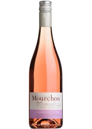 2015 Loubié Côtes du Rhône Rosé, Domaine de Mourchon