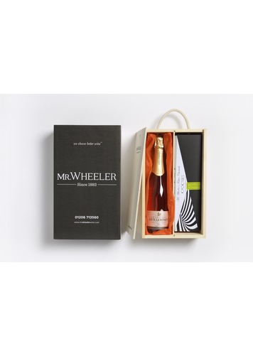 Champagne Truffles & Pink Champagne Gift Box