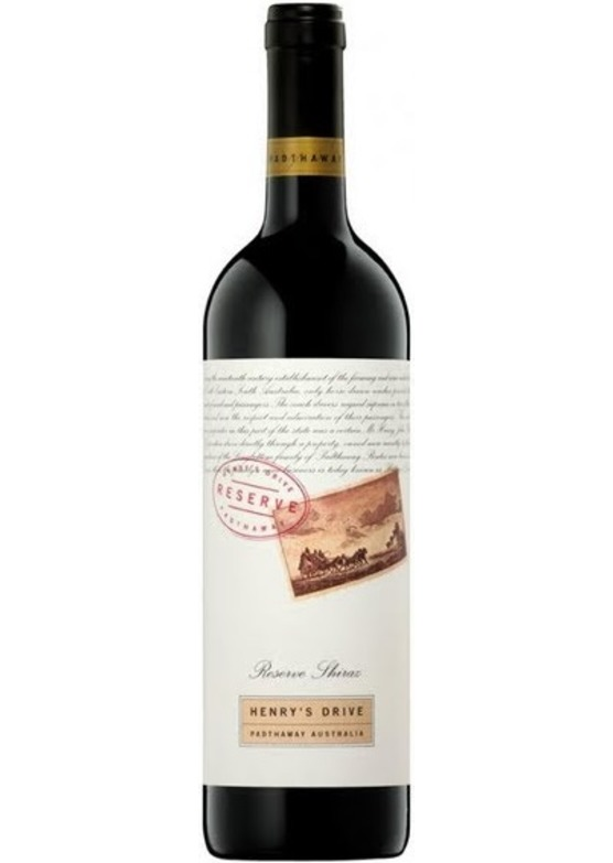 2003 Shiraz Reserve, Henry's Drive, Padthaway