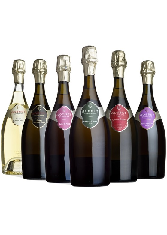 Champagne Gosset: The Complete Collection