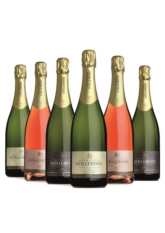 6 Bottle Guilleminot Champagne Taster Case