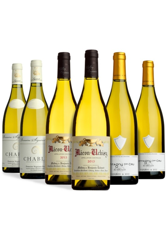 The Burgundy Selection (Whites)